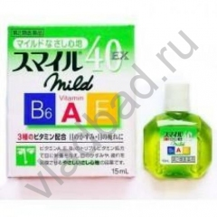 9cf4c9da79d0 Купить Lion Smile 40 EX Mild, Японские Витаминизированные капли для ...